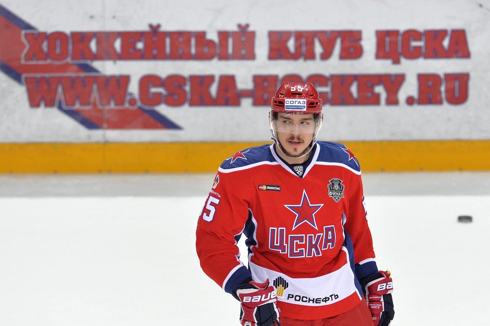 ЦСКА прервал шестиматчевую победную серию «Ак Барса»