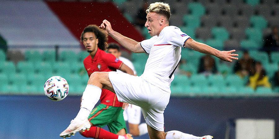 Сборные Португалии и Германии вышли в полуфинал молодежного ЧЕ