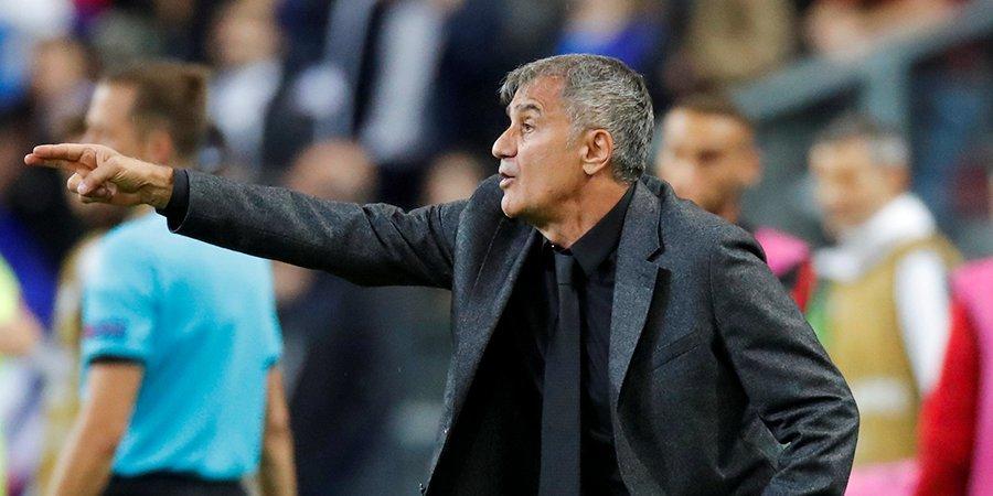 Главный тренер сборной Турции — о поражении от Италии: «Просто забудем, что сегодня произошло»