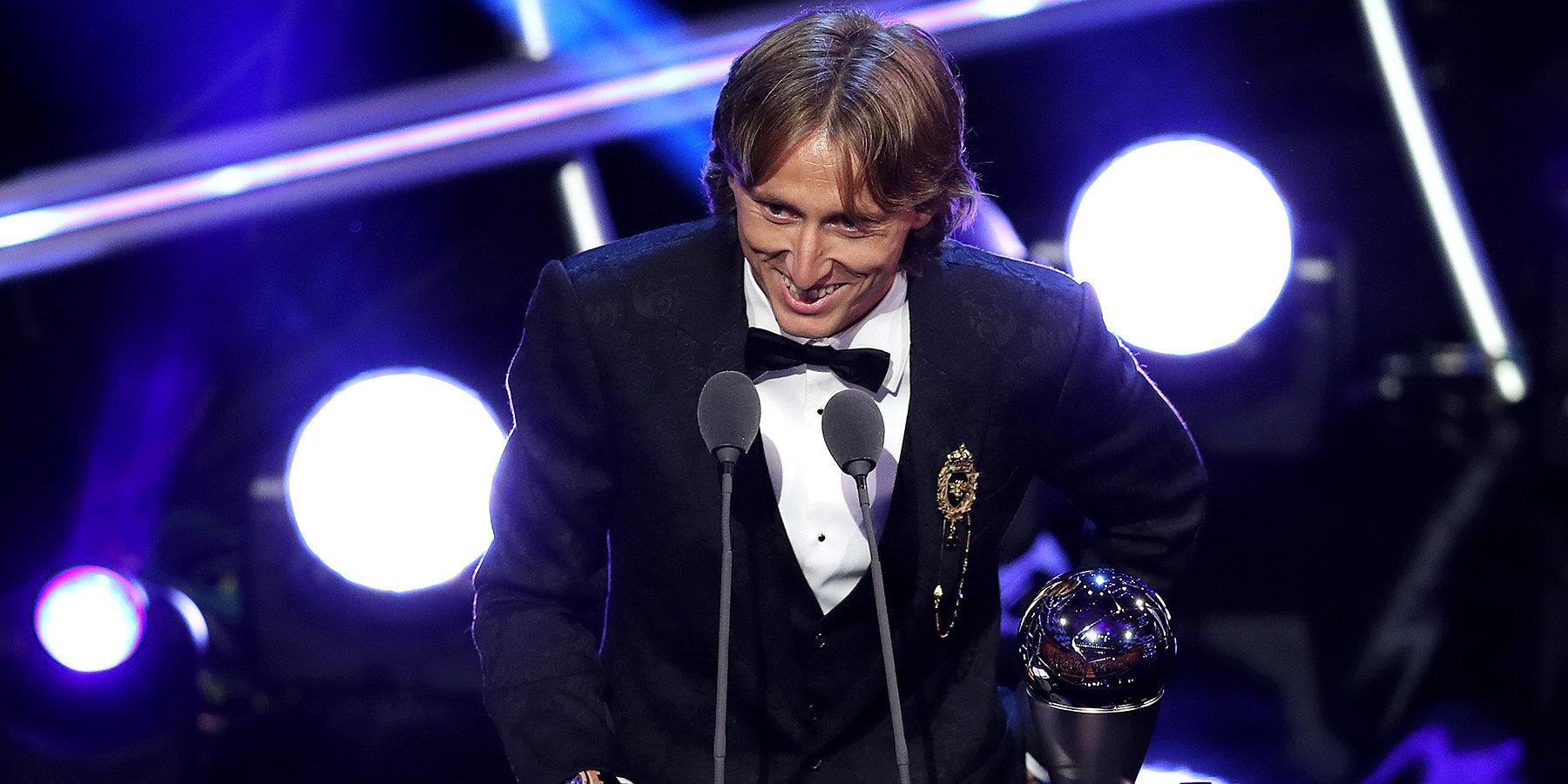 Лука Модрич признан футболистом года поверсии ФИФА