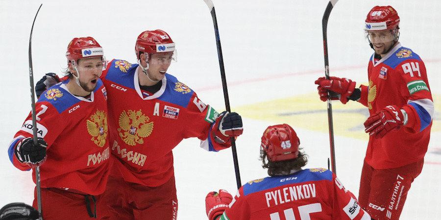 Россия обыграла Чехию и стала победительницей Евротура