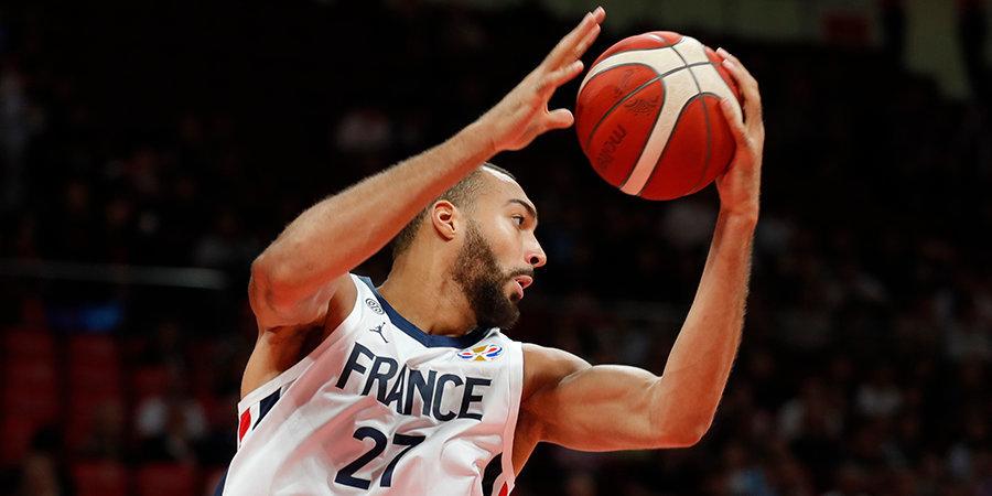 Гобер назван лучшим баскетболистом года во Франции