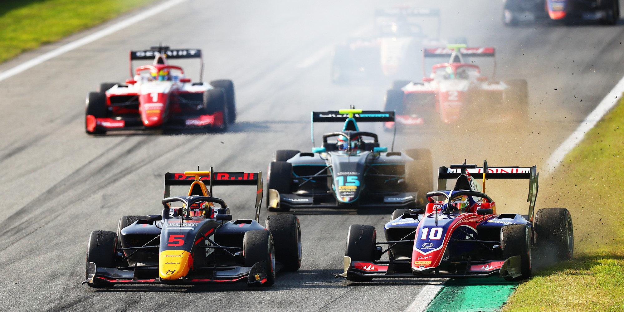 Хаугер выиграл первую гонку «Формулы-3» в Австрии, Смоляр замкнул топ-10