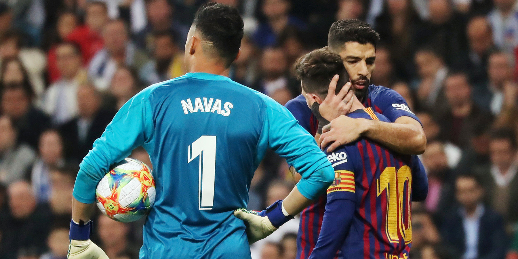 Видео голы барселона реал сосьедад полуфинал кубка испании