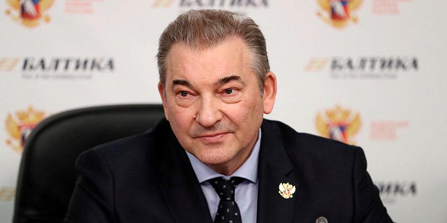 Владислав Третьяк: «Надеемся, что Буре будет избран в совет ИИХФ»