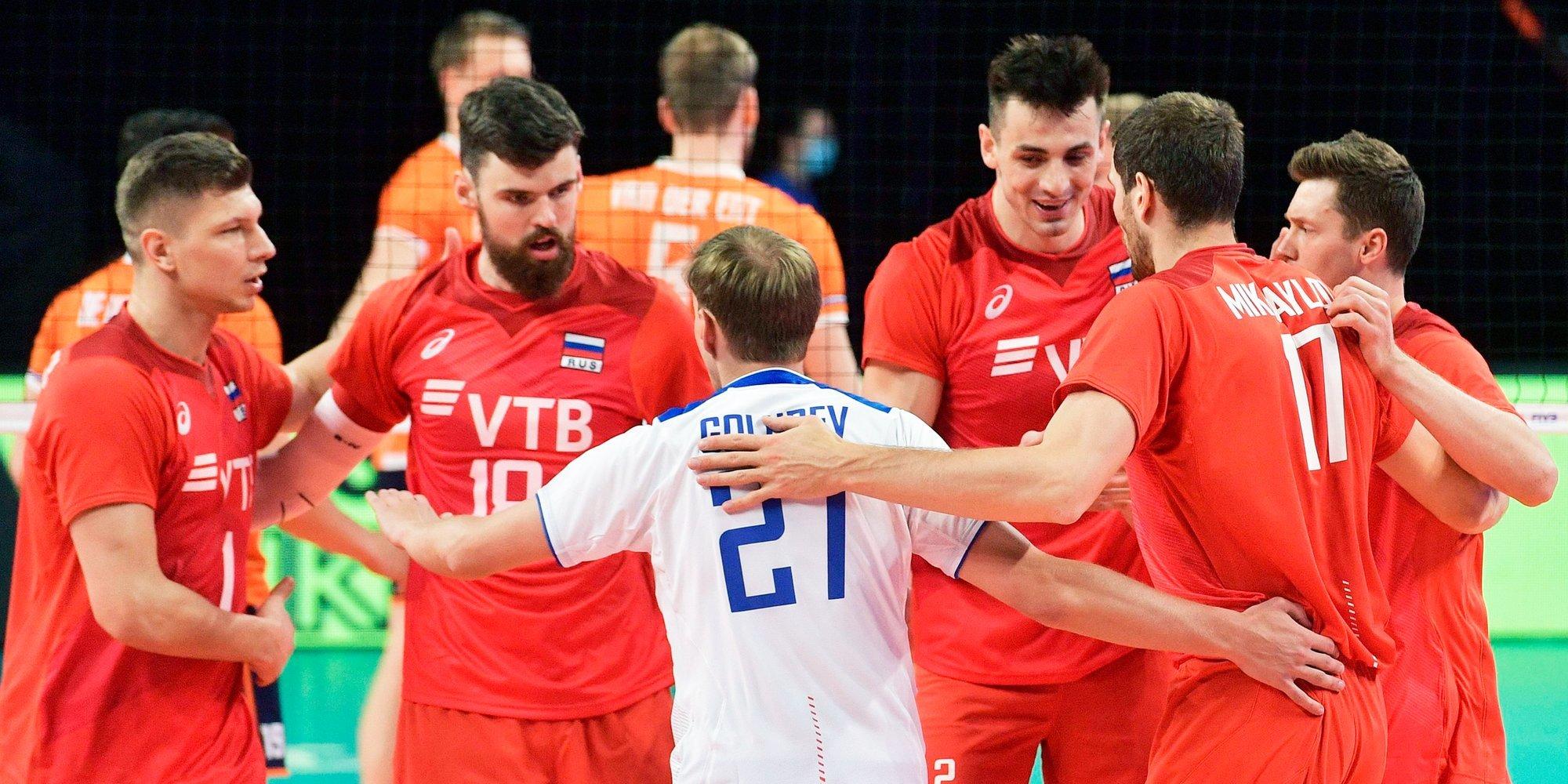 Сборная России обыграла Сербию в Лиге наций