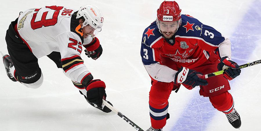 «Авангард» оказался сильнее ЦСКА в Москве и повел в финальной серии