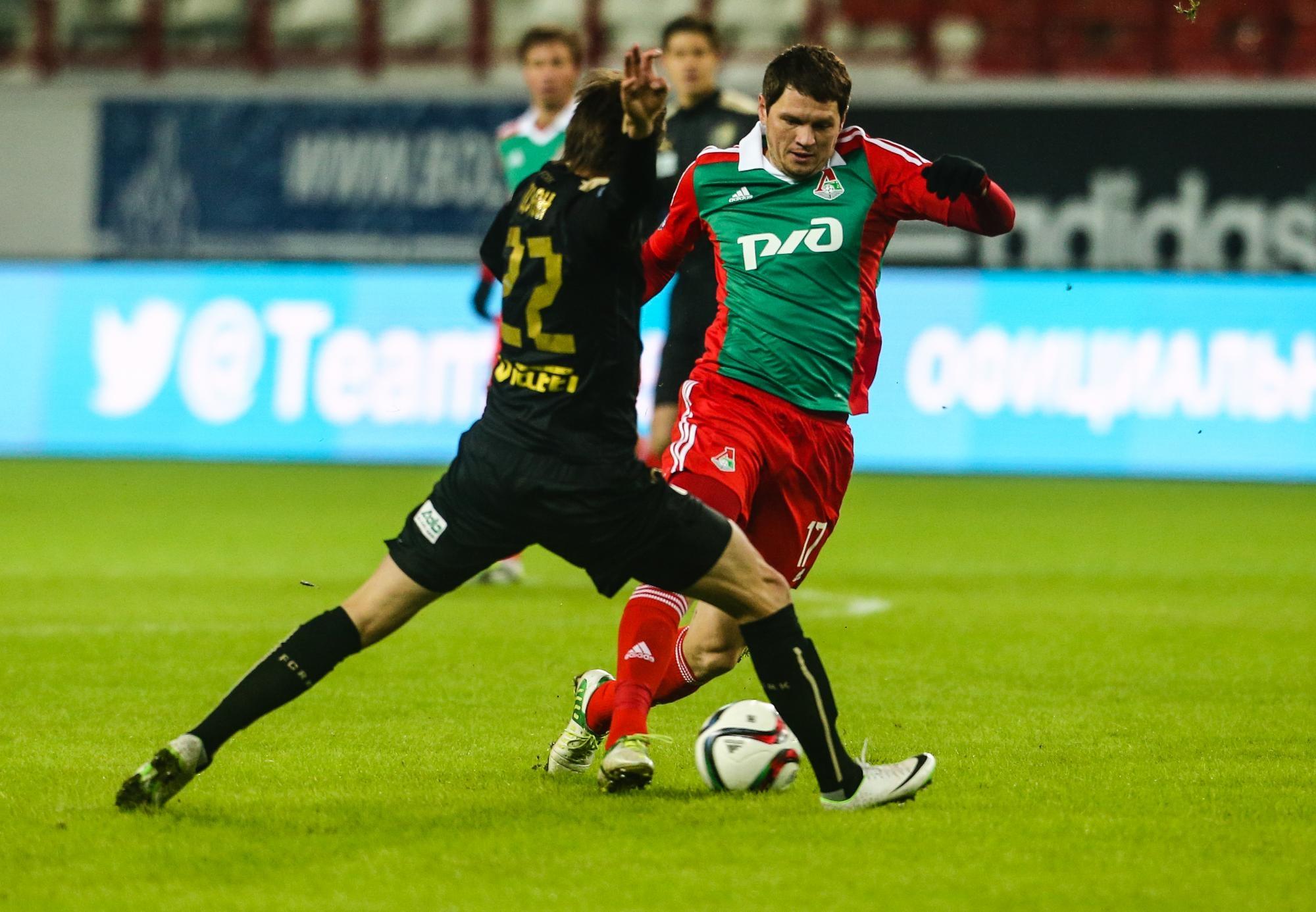 ФК «Локомотив» продлил договор сзащитником Михаликом доконца сезона