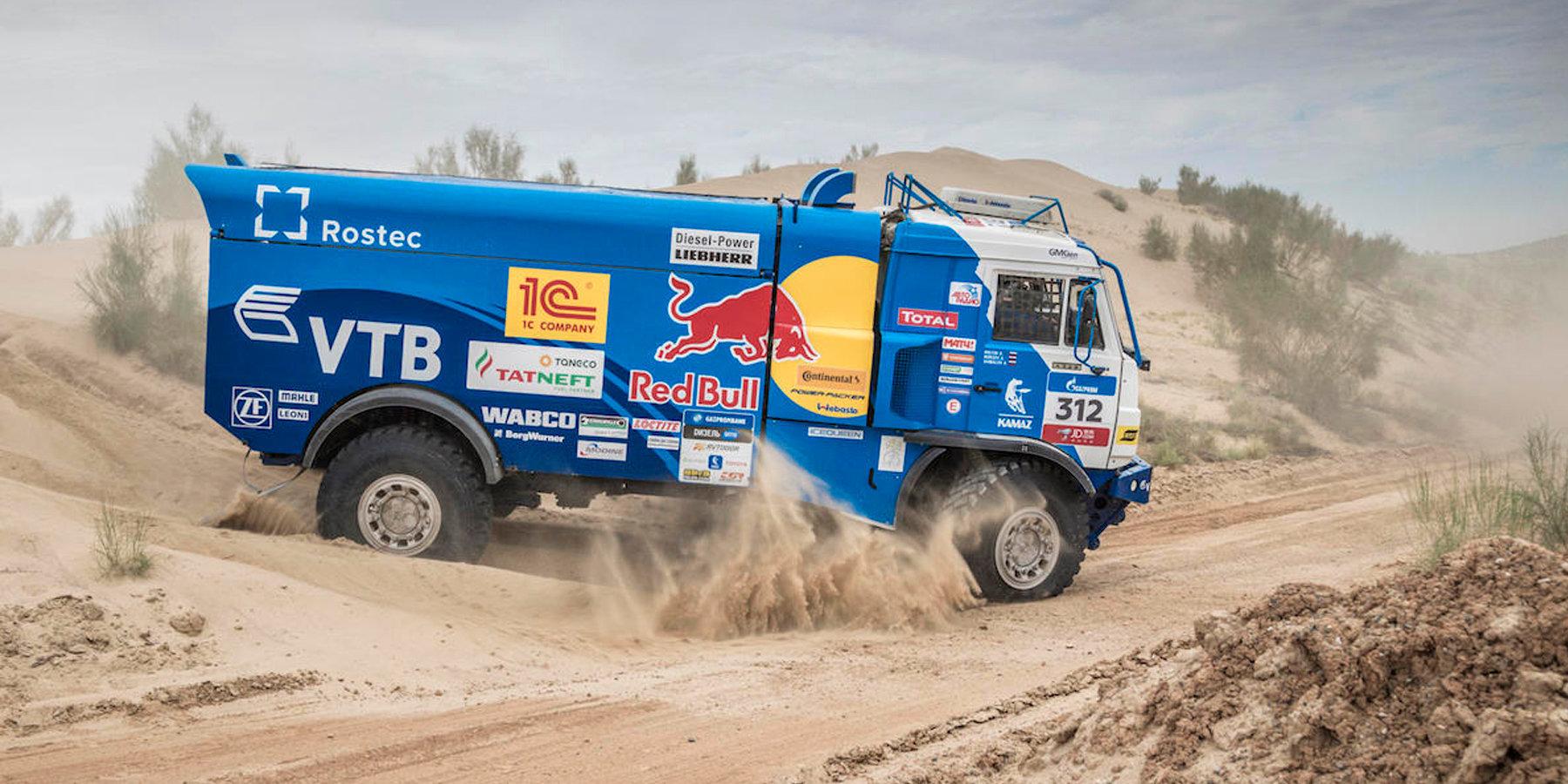 Экипаж Айрата Мардеева стал победителем девятого этапа ралли «Шелковый путь»