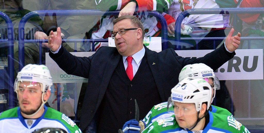 «Салават Юлаев» простился с основным тренером Игорем Захаркиным