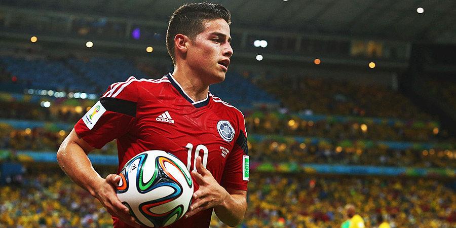 Хамес Родригес опроверг информацию о драке в сборной Колумбии