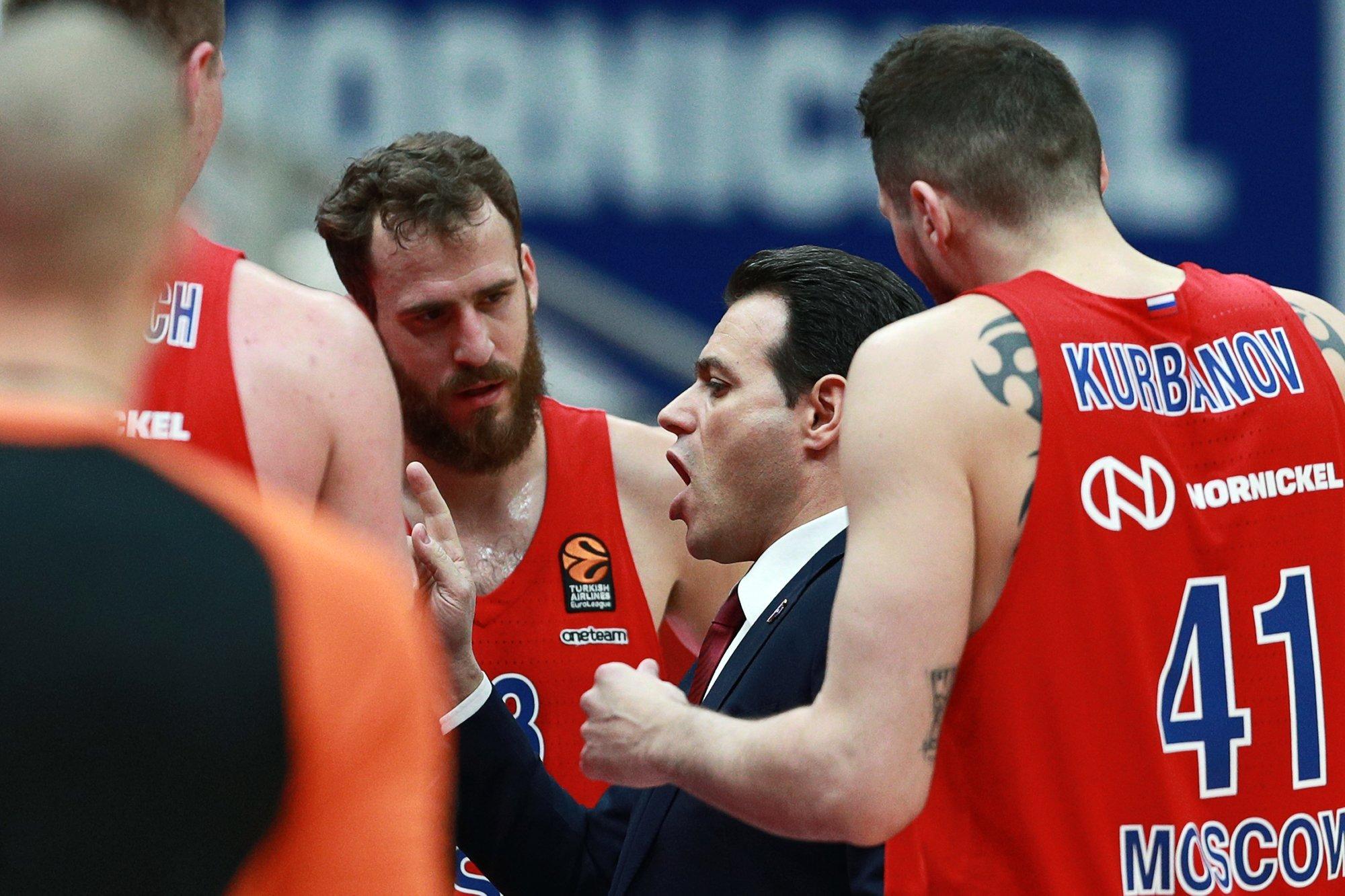 ЦСКА проиграл клубу «Будучность» и прервал свою победную серию