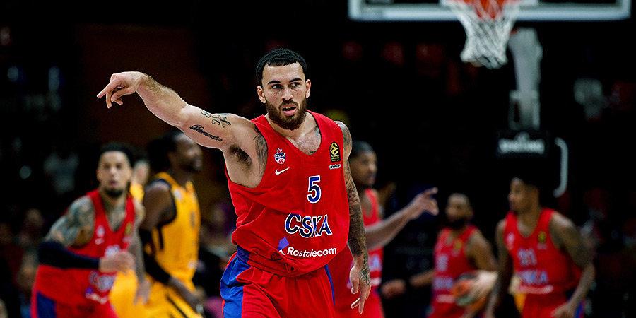 Баскетболист ЦСКА Джеймс вышел из карантина