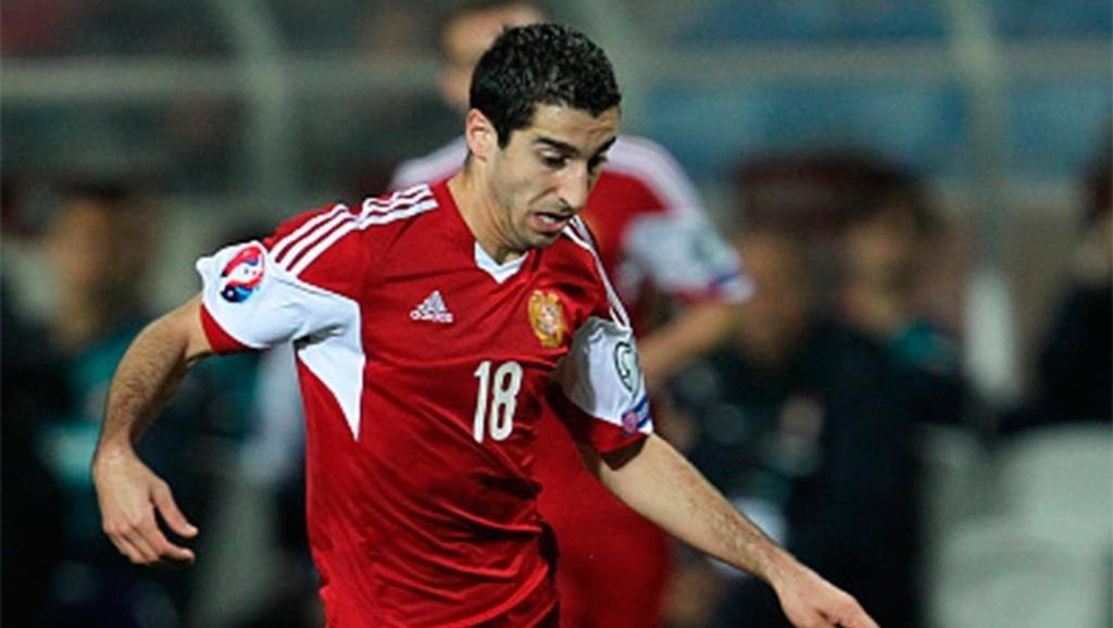 Мхитарян признан игроком года вАрмении