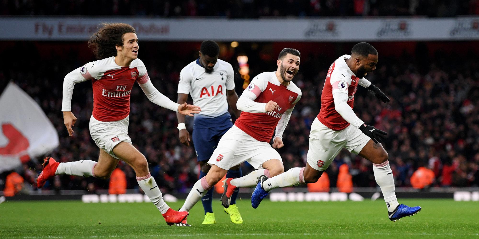 Арсенал тоттенхэм игра в феврале