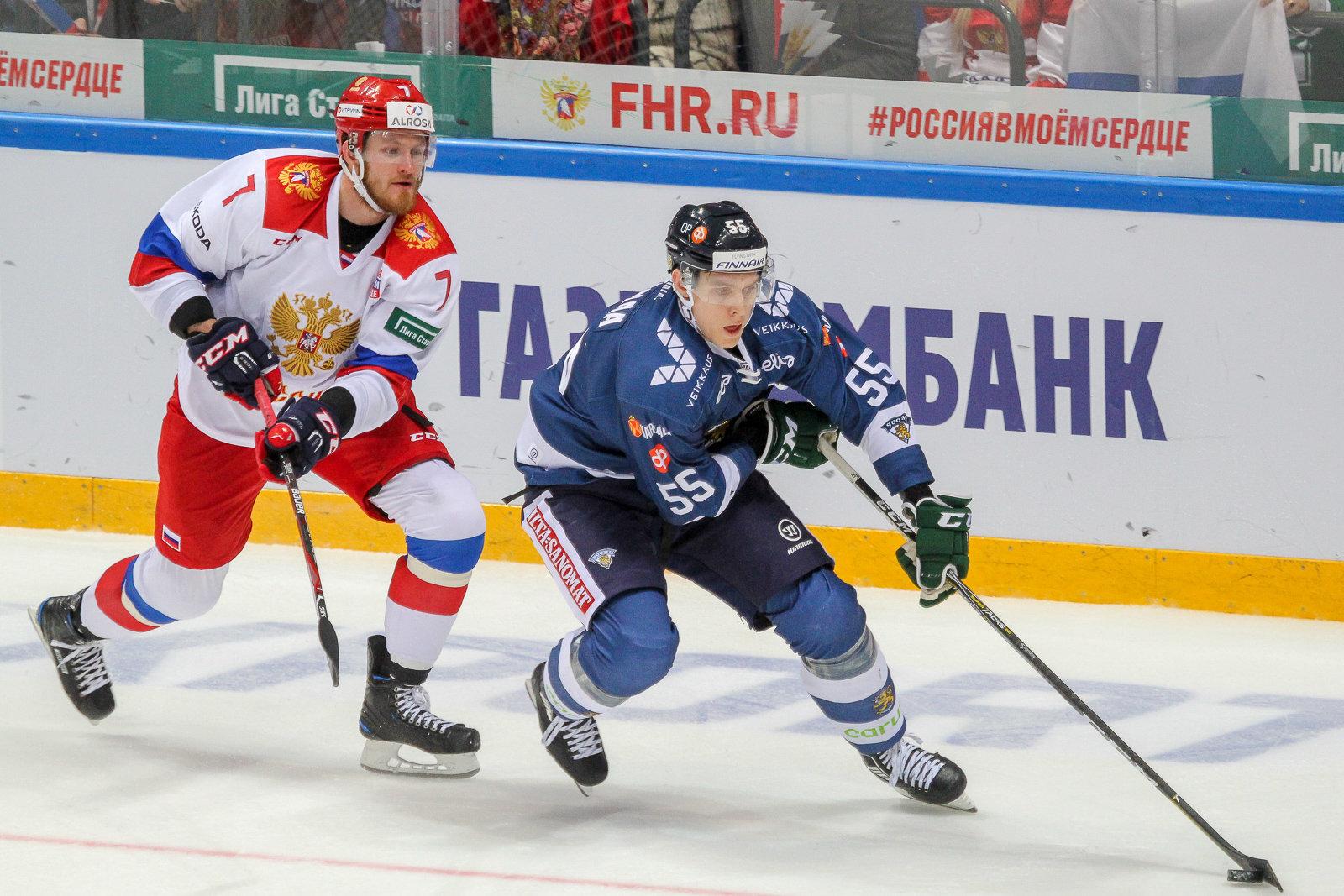 Ставки на матч Россия – Финляндия, Чемпионат мира по хоккею 2018