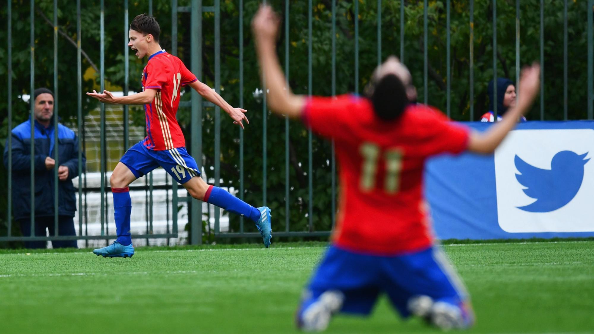 ЦСКА прошел вчетвертьфинал юношеской Лиги УЕФА