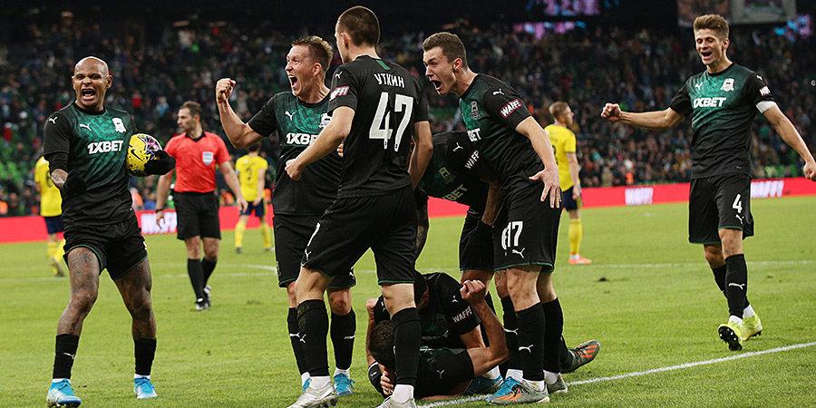 Как в матче «Краснодара» и «Ростова» выиграл «Зенит»