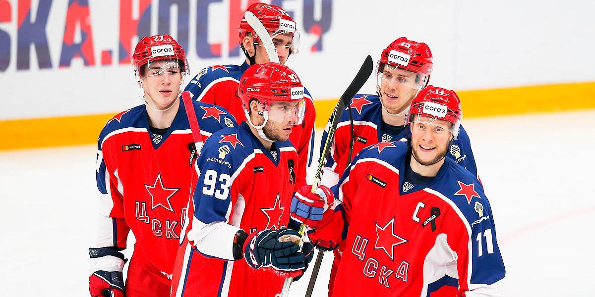 ЦСКА дома разгромил «Северсталь»
