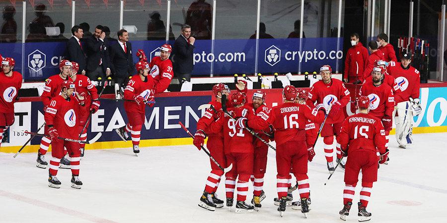 Сборная России сыграет с Канадой в четвертьфинале ЧМ