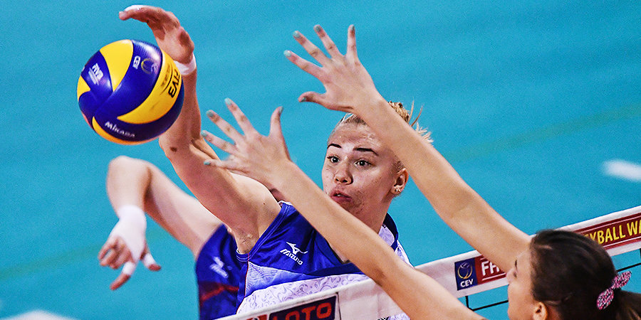 Женская сборная России прервала серию поражений в Лиге наций
