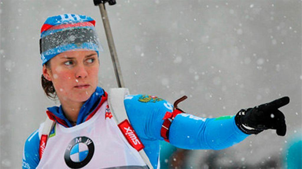 Россиянки завоевали серебро ибронзу вспринте наЧЕ побиатлону
