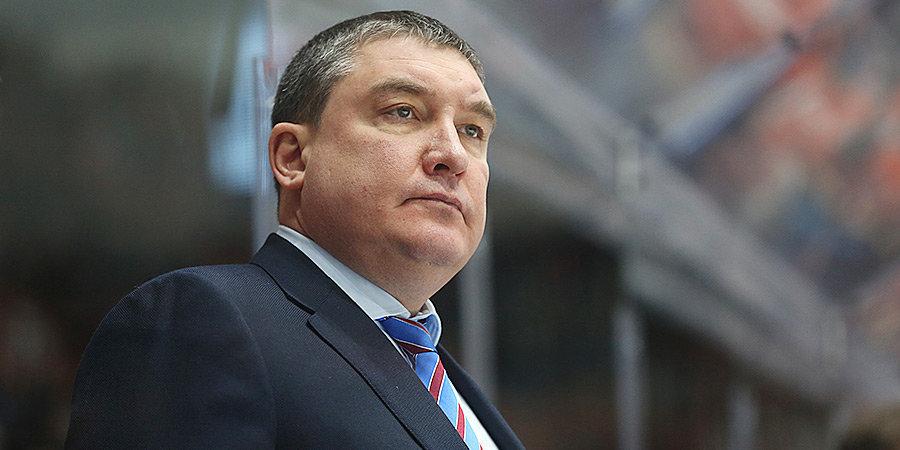 Анвар Гатиятулин — о победе над СКА: «Ошибки были, но вратарь подчищал»