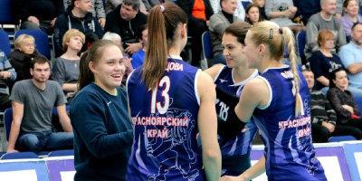 Волейболистки «Енисея» прервали пятиматчевую серию поражений, обыграв «Минчанку»