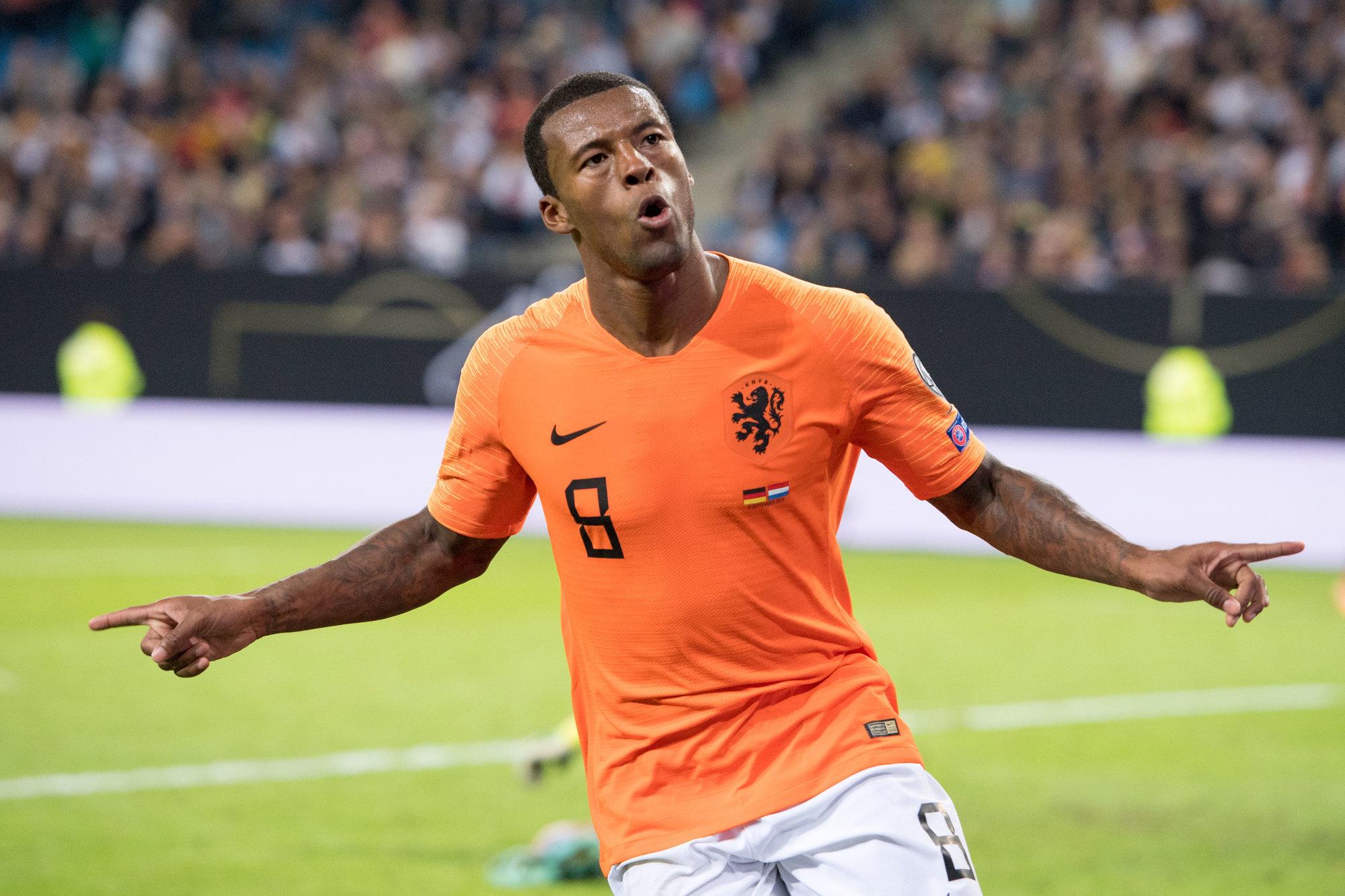 Жоржиньо Вейналдум: «Сборная Нидерландов не выигрывала на протяжении пяти матчей. Рад снова почувствовать вкус победы»