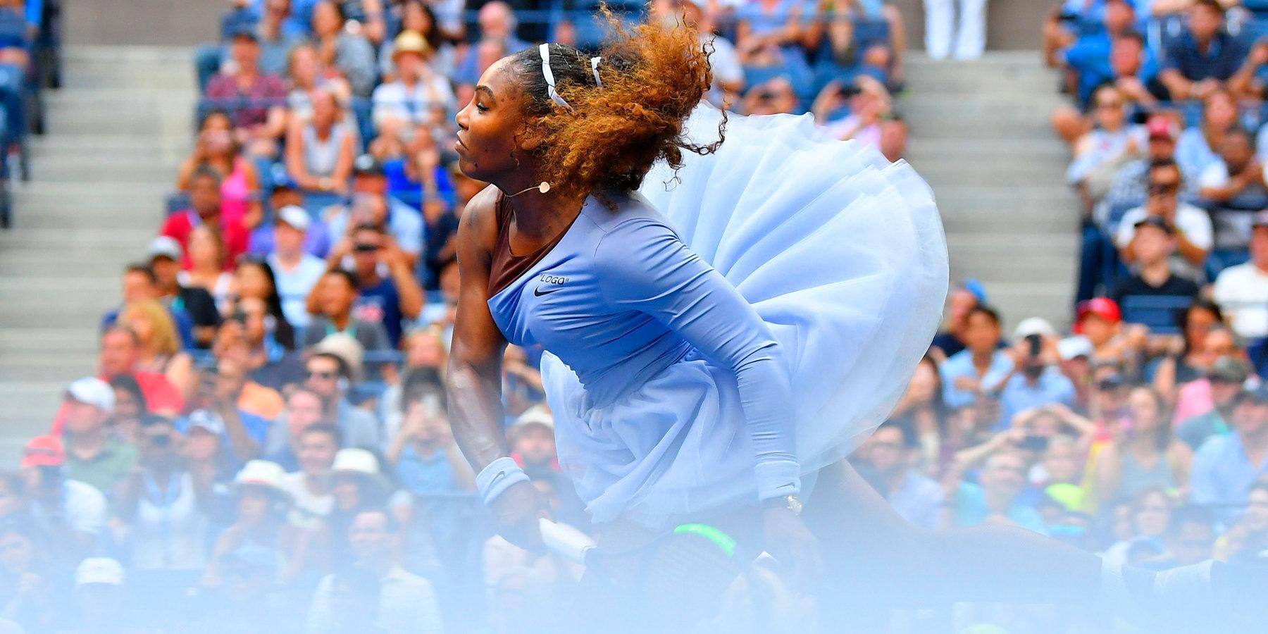 Серена Уильямс записала свою трехлетнюю дочь на теннисные курсы