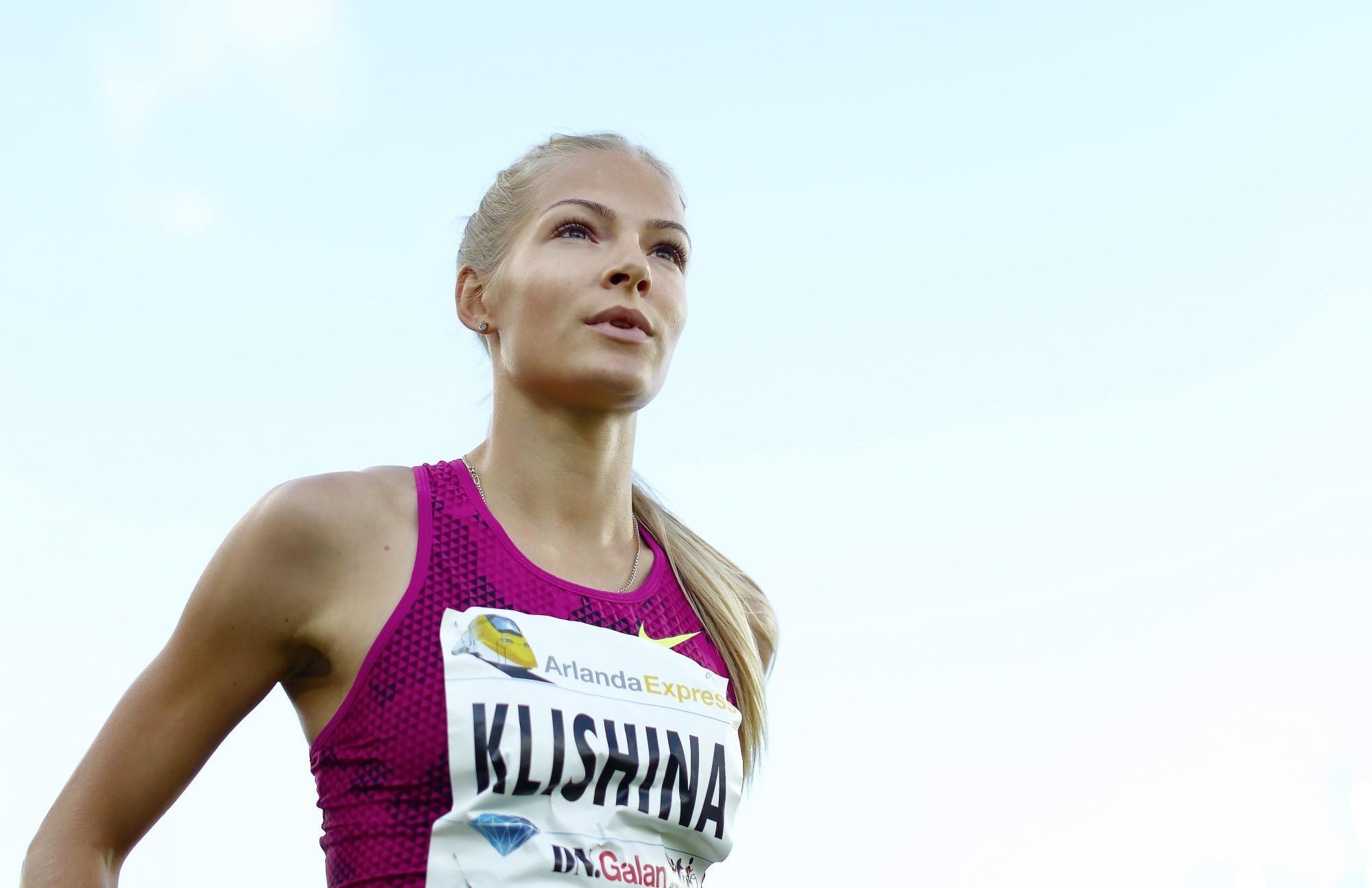 Клишиной разрешили выступать насоревнованиях вкачестве нейтральной спортсменки