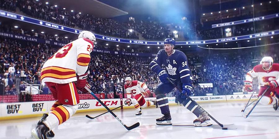 EA представила дебютный трейлер новой части симулятора NHL 22
