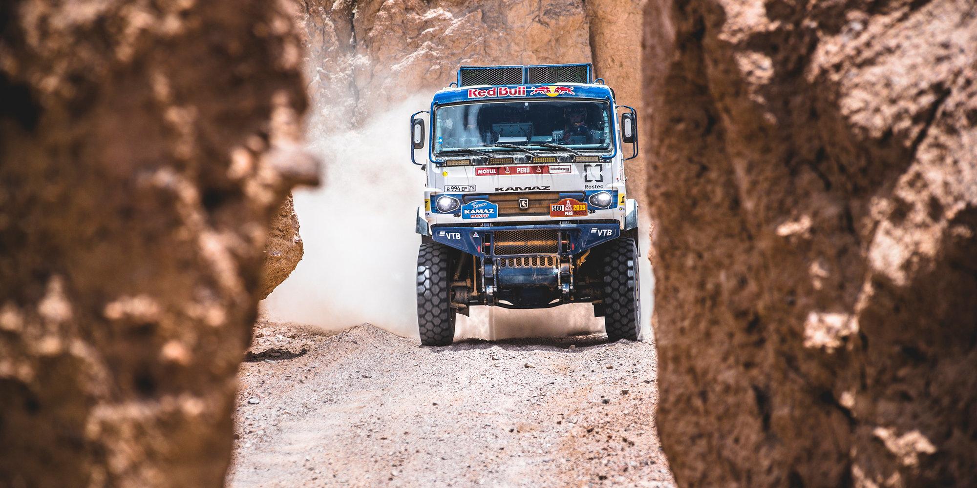 Николаев стал третьим в зачете грузовиков  на седьмом этапе «Дакара»
