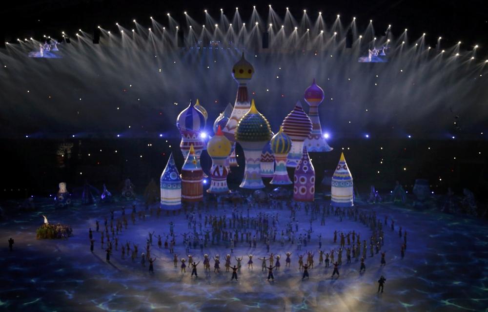 самое красивое и зрелищное открытие олимпиады за историю