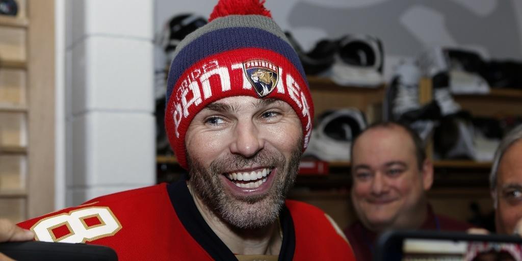 Яромир Ягр пожаловался наотсутствие предложений состороны клубов НХЛ