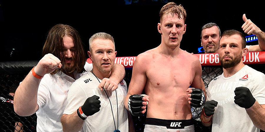 «Оверим был не в лучшей форме и сразу стал втягивать живот — это уже говорит о многом». Харитонов – о победе Волкова на турнире UFC Fight Night 184