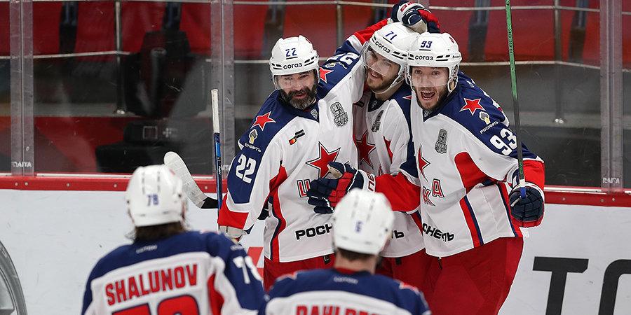 ЦСКА победил «Авангард» и вышел вперед в финальной серии Кубка Гагарина