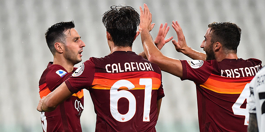 «Рома» поделила очки с «Интером»