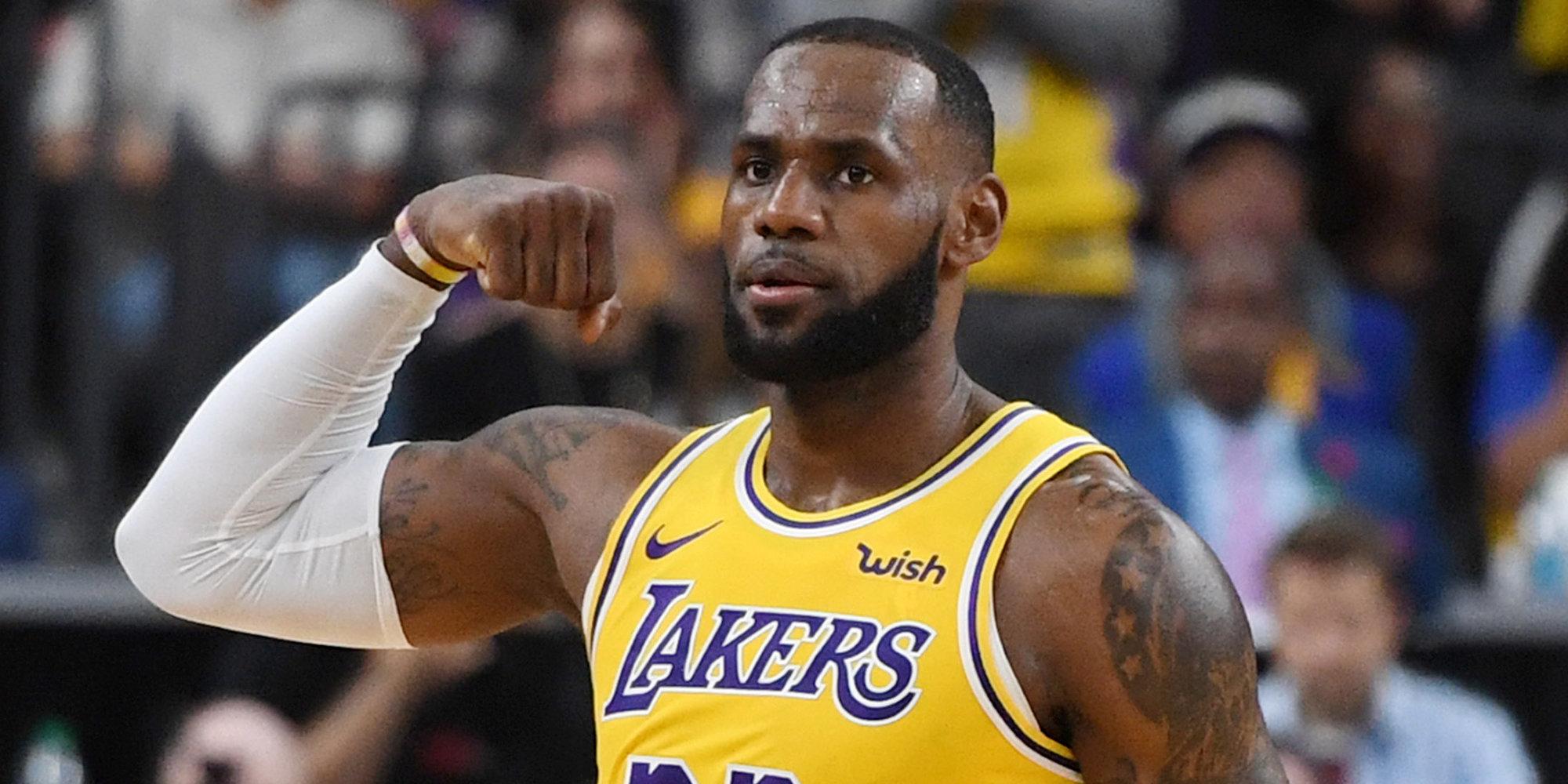Леброн Джеймс третьим в истории НБА набрал 20+ очков в 1000 матчей