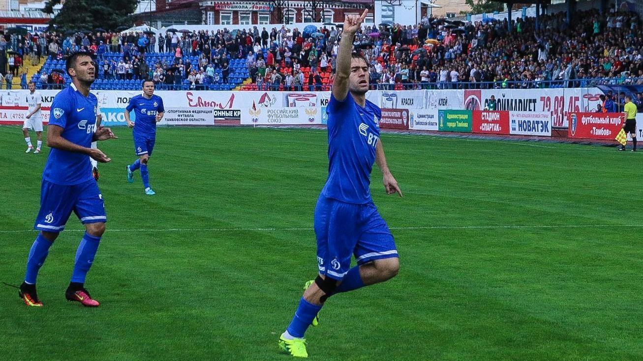Голы Панченко иБечирая принесли «Динамо» победу над «Мордовией» вматче ФНЛ