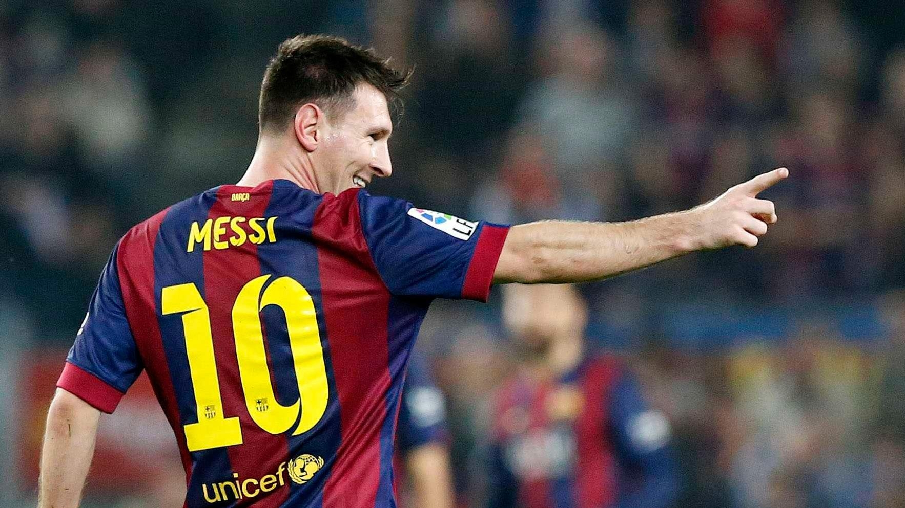 Месси лучший футболист европы