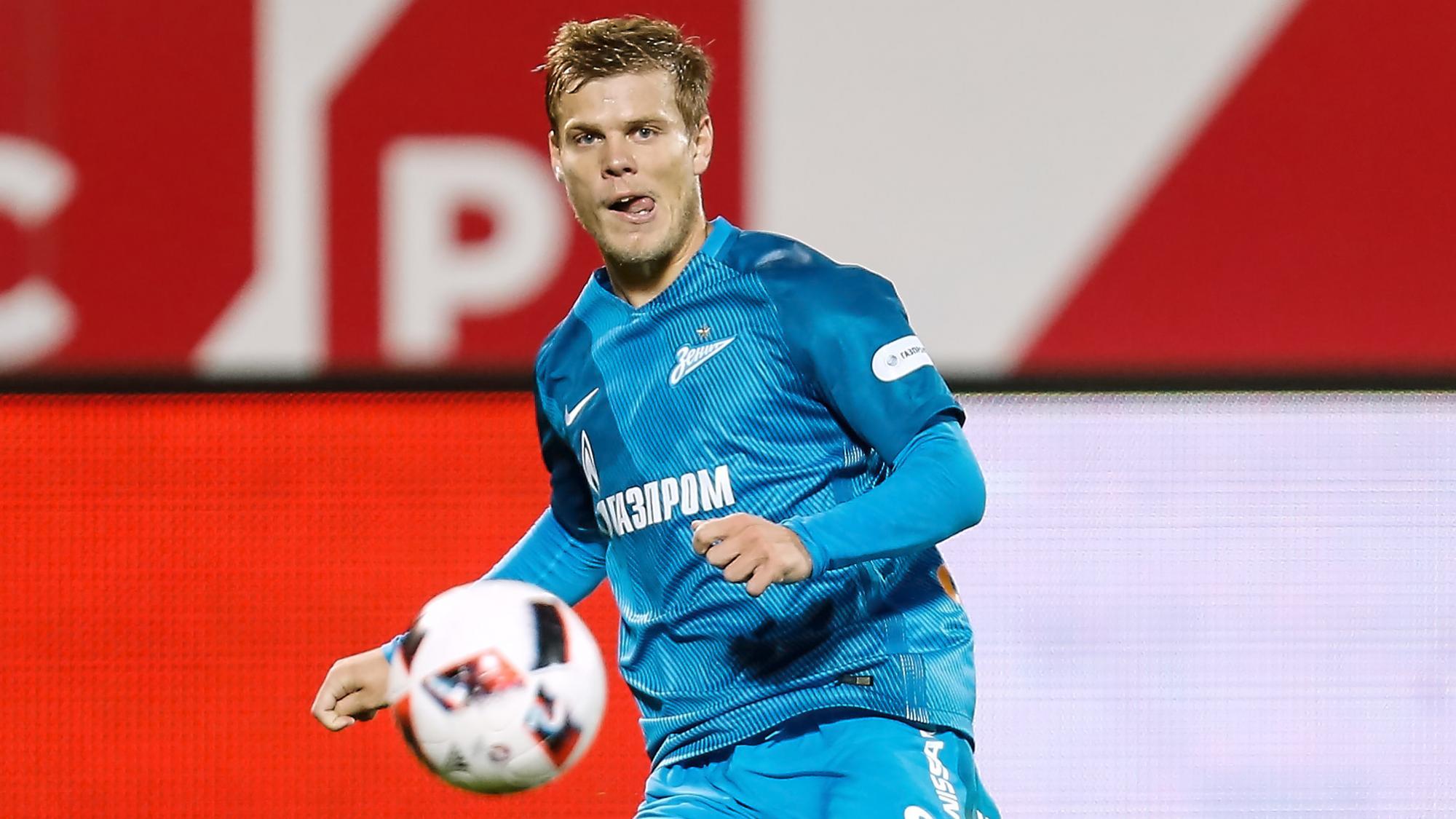 Два мяча Кокорина принесли победу «Зениту» над «Легией» вконтрольном матче