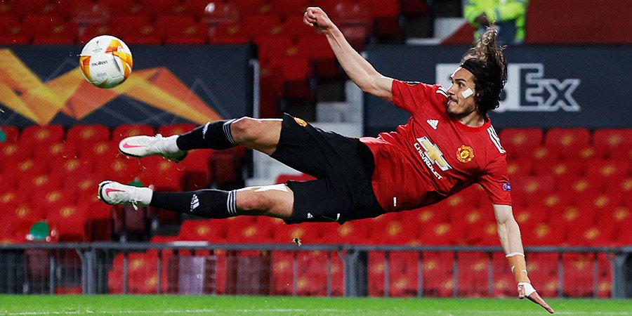 «Манчестер Юнайтед» разгромил «Рому» в первой игре полуфинала Лиги Европы