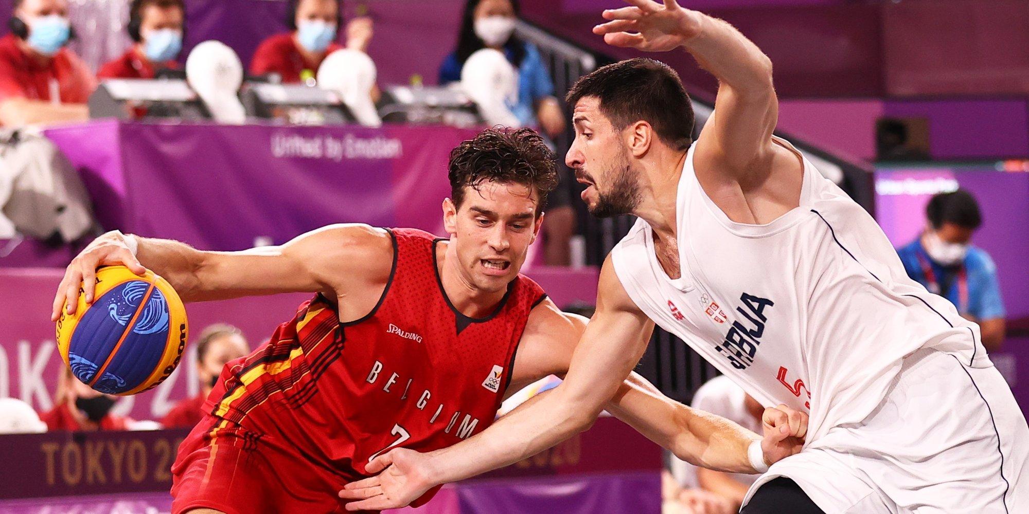 Сербские баскетболисты 3х3 победили Бельгию в матче за бронзу на Олимпиаде