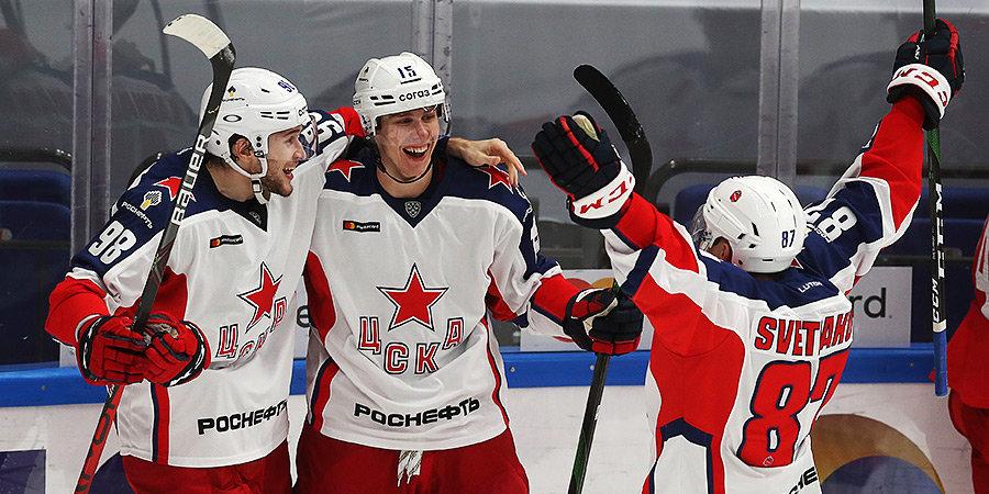 ЦСКА обыграл «Авангард», одержав пятую подряд победу