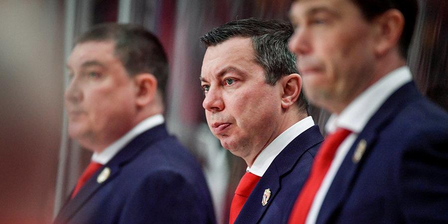 «Работать главным тренером сборной — это огромная честь». Воробьев попрощался с игроками и болельщиками