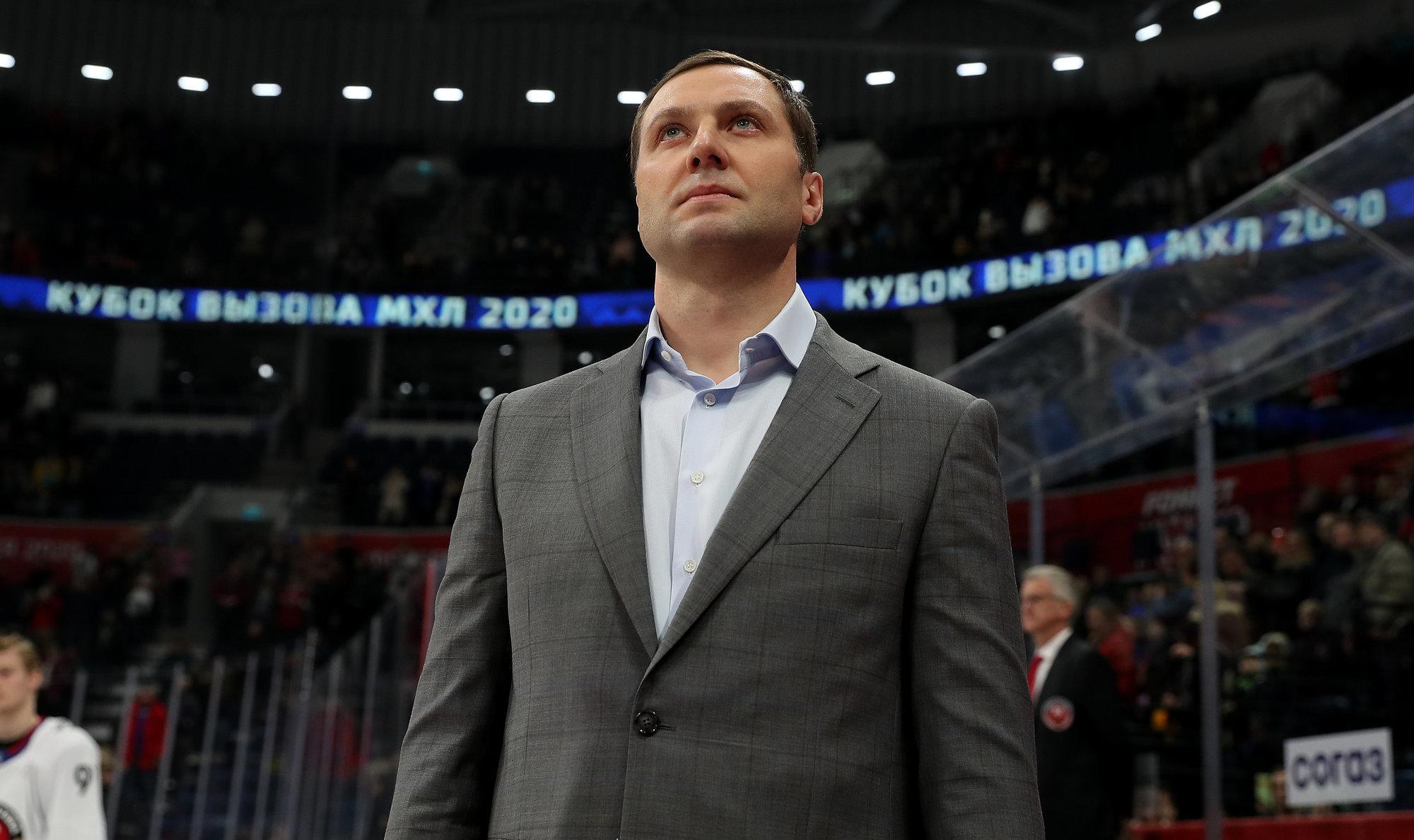 Морозов представил сценарий продолжения сезона КХЛ