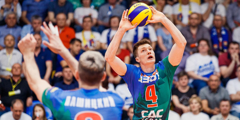 «Кузбасс» в пяти сетах переиграл «Берлин» и вышел в плей-офф Лиги чемпионов