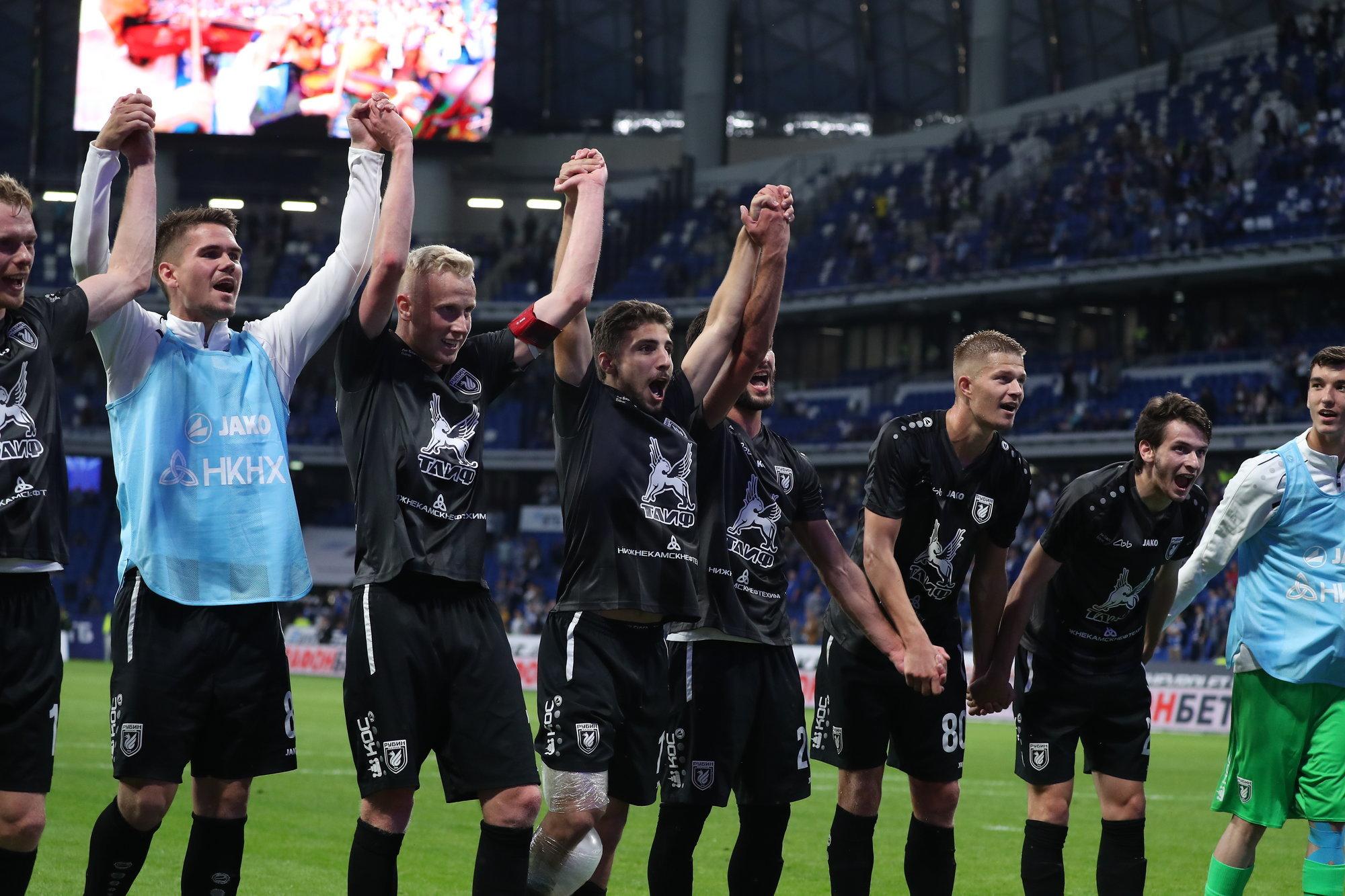 «Рубин» Шаронова победил вКазани «Арсенал»— Рок-н-ролл живой