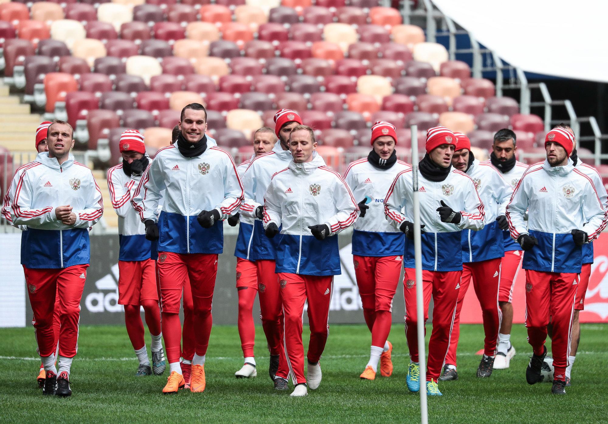 Футболисты сборной Российской Федерации проиграли Франции вконтрольном матче